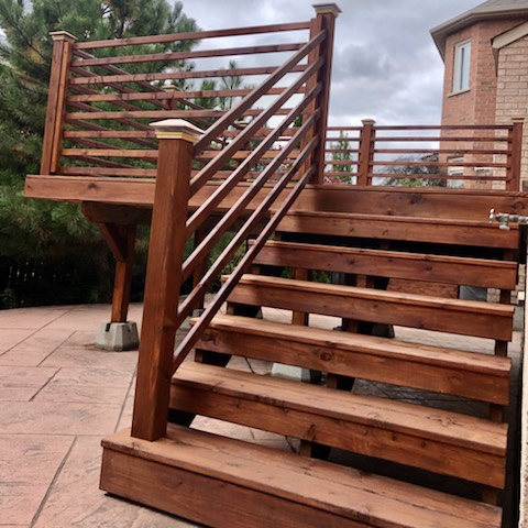 deck stairs reno 8