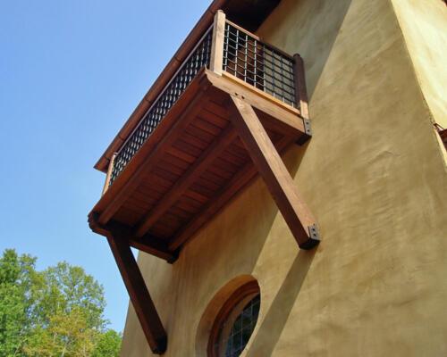 custom balcony