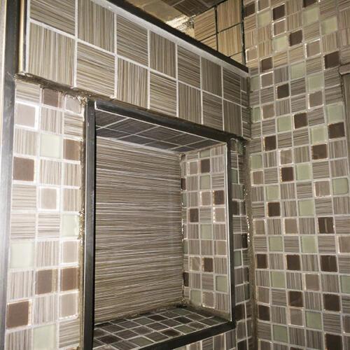 GTA bathroom reno shower tiles 1