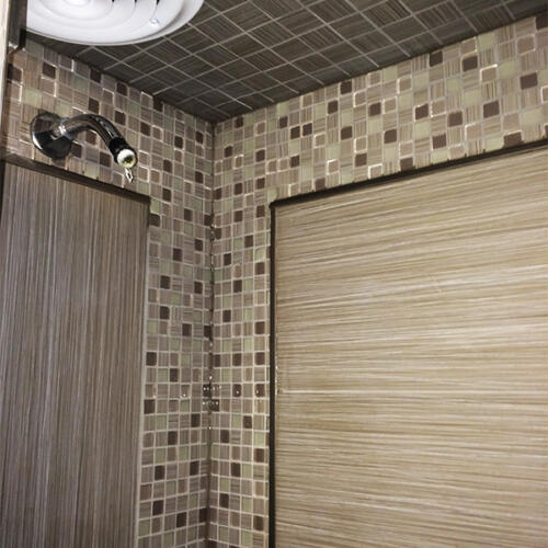 GTA bathroom reno shower tiles 4