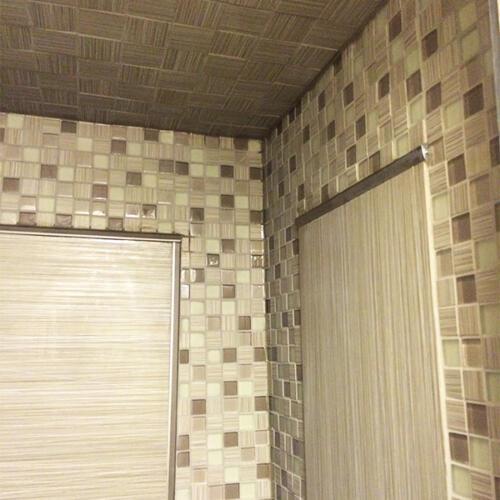GTA bathroom reno shower tiles 7