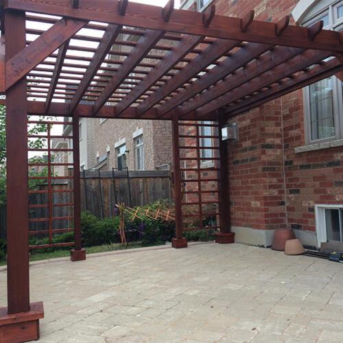 pergola stair backyard combo in woodbridge_0000_IMG_4721